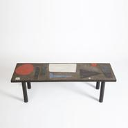 image Pierre & Vera Székely - Ceramic coffee table