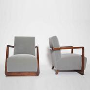 image Gauthier et Poinsignon - Pair of armchairs