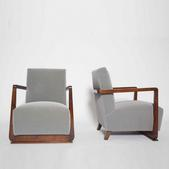 image Gauthier et Poinsignon - Pair of armchairs / SOLD