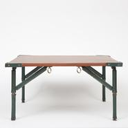image Jacques Adnet - Leather Coffee Table
