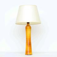 image Suzanne Ramié (MADOURA) - Light Orange Table Lamp