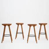 image Marolles - Set of 4 stools