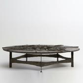 image Pia Manu - Malachite Coffee Table / SOLD