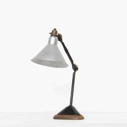 image Bernard Albin Gras - Aluminum Desk Lamp