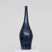 image Robert and Jean Cloutier - Blue ceramic vase