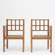 image Francis Jourdain - Pair of Armchairs