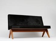 image Pierre Jeanneret - Black Sofa / SOLD