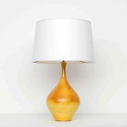 image Suzanne Ramié (MADOURA) - Orange Table Lamp / SOLD