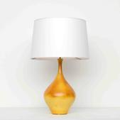 image Suzanne Ramié (MADOURA) - Orange Table Lamp / SOLD