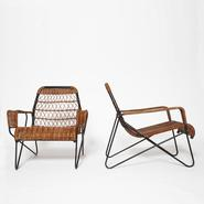 image Raoul Guys - Pair of Antony armchairs / SOLD