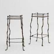 image Sido & Francois Thevenin - Pair of side tables / SOLD