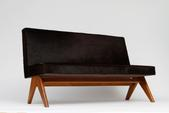 image Pierre Jeanneret - Brown Sofa
