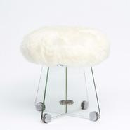 image René Coulon - Glass Stool
