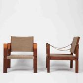 image Pierre Chapo - Pair of Armchairs / SOLD