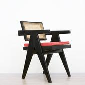 image Pierre Jeanneret - Black Office Chair / SOLD