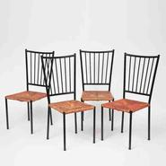 image Colette Gueden - Set of 4 Chairs / SOLD