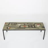 image André Borderie – Ceramic coffee table
