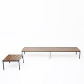 image Joseph André Motte - Bench and side table