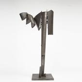 image Philolaos Tloupas - Rare Steel Sculpture / SOLD