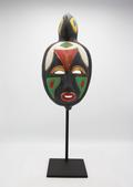 image Jaques Sagan - Green, red, yellow mask / SOLD