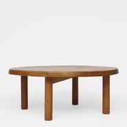 image Pierre Chapo - Round coffee table / SOLD