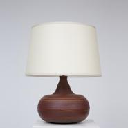 image Pouchain / Atelier Dieu Le Fit - Red Ceramic Table Lamp / SOLD