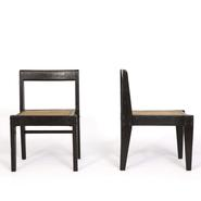 image Pierre Jeanneret - Pair of demountable chairs