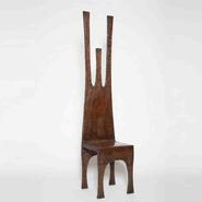 image French 1970 - Sculptural metal chair