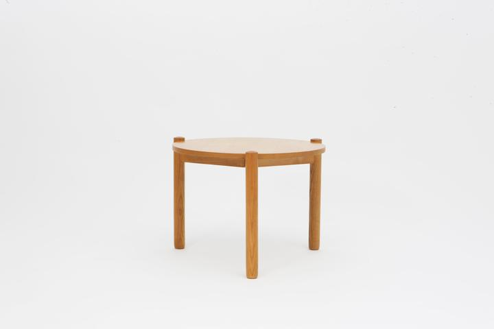 Strange Charlotte Perriand Round Side Table Sold Coffee Tables Ocoug Best Dining Table And Chair Ideas Images Ocougorg