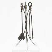 image In the style of Roberto Matta - Sculptural fireplace tools / SOLD