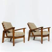 image Roger Landault/Guiguichon - Pair of armchairs / SOLD