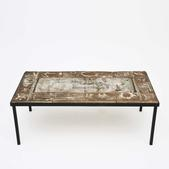 image Gilbert Portanier - Ceramic coffee table