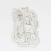 image Beppe Domenci - White Ceramic Sconce / SOLD
