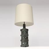 image Suzanne Ramié (MADOURA) - Ceramic table lamp / SOLD