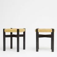 image Charlotte Perriand - Pair of stools / SOLD