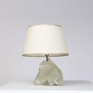 image French 1930 - Crystal table lamp / SOLD