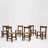 image Marolles-Set of six chairs / SOLD