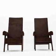 image Pierre Jeanneret - Pair of Judge Chairs