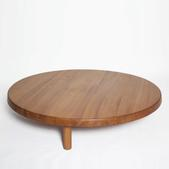 image Pierre Chapo - Round wooden sidetable / SOLD
