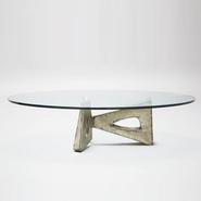 image Alain Douillard – Oval Coffee Table / SOLD