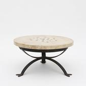 image Paul Becker - Circular side table / SOLD