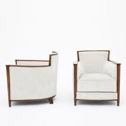 image Francisque Chaleyssin - Pair of armchairs / SOLD