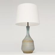 image Suzanne Ramié (MADOURA) - Blue table lamp / SOLD