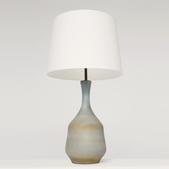 image Suzanne Ramié (MADOURA) - Blue table lamp