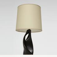 image French 1950 - Ceramic table lamp