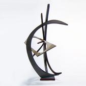 image André Bloc - Wood Sculpture