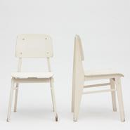 image Jean Prouvé - Pair of standard chairs / SOLD