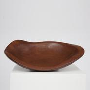 image Alexandre Noll - Large Sculpted Plate / SOLD