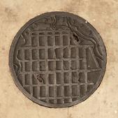 image Le Corbusier - Manhole cover
