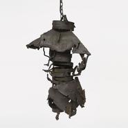 image Sylvain Contini - Metal celling lamp